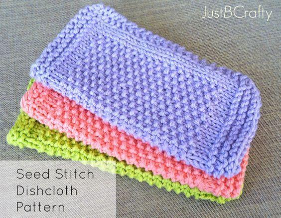 1000+ ideas about Seed Stitch on Pinterest Knitting, Knitting patterns and ...