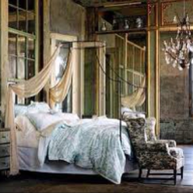 Anthropology bedroom interior pinterest anthropology for Modern romantic interior design