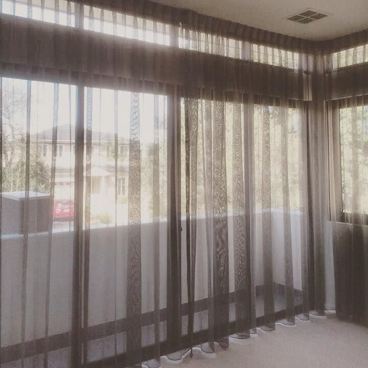 Sheer curtains are not just practical as window treatments but they also create a modern and attractive interest to a room.  Sheer fabrics consist of cotton, linen and voile.