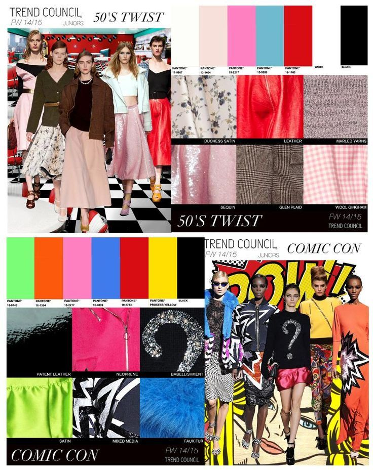 F/W 14-15-key trends for Juniors
