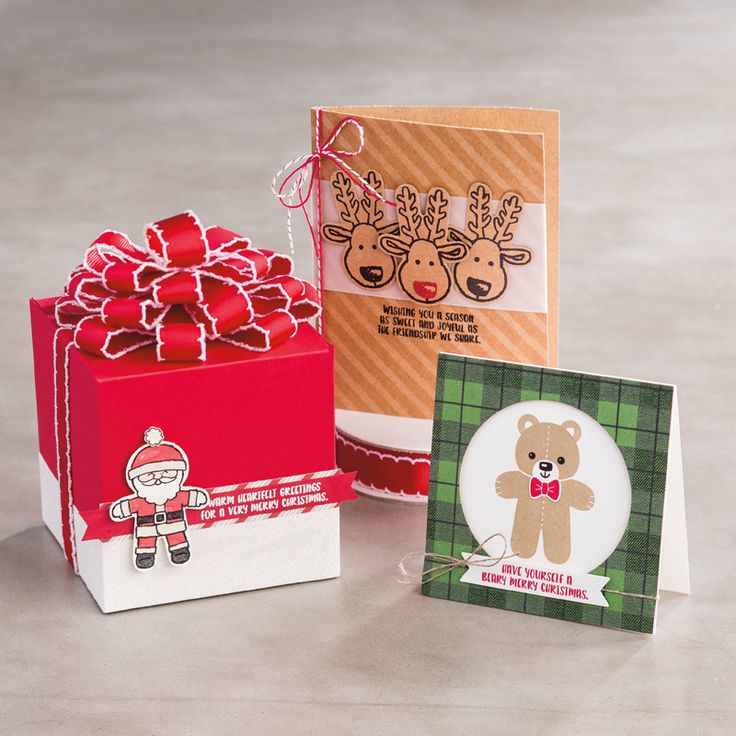 Cookie Cutter Christmas Photopolymer Stamp Set