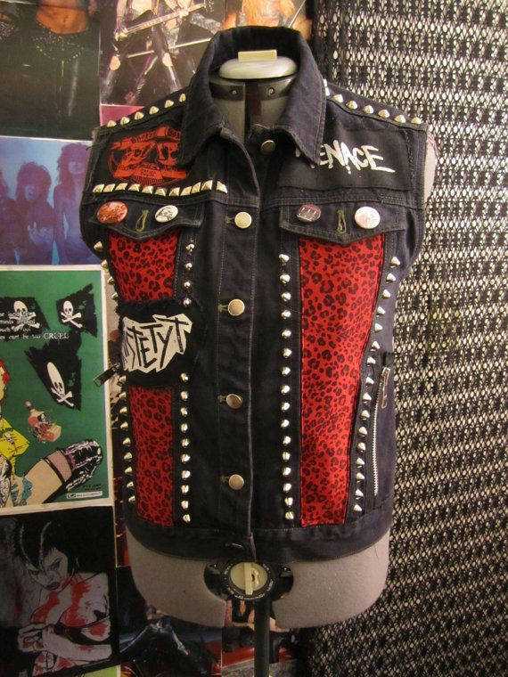BLOWOUT SALE Punk Rock Studded Zebra Print and Leopard ...