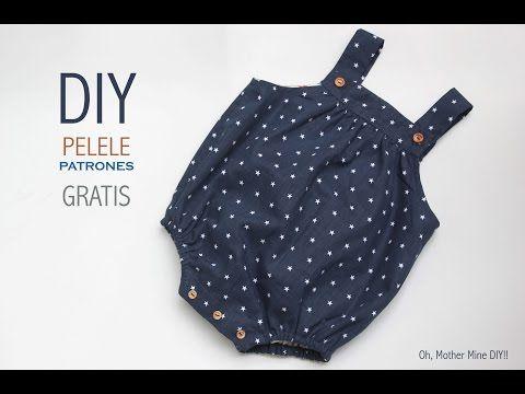 Blog costura y diy: Oh, Mother Mine DIY!!: DIY Cómo hacer pelele para bebé (patrones gratis)