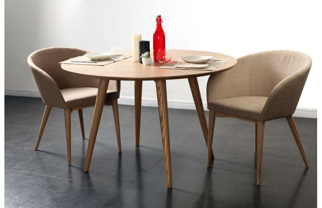 Table à manger design frêne LIVIA - Dos