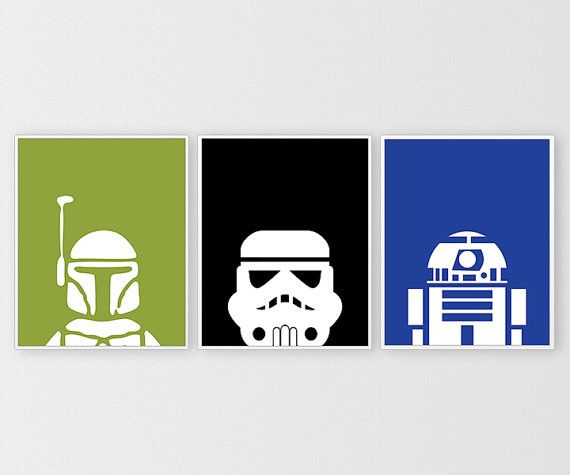 Star Wars Prints Star Wars Printables Minimal par ClaresPrintables