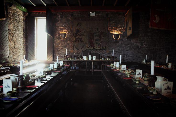 Tablescape at Dromoland Castle