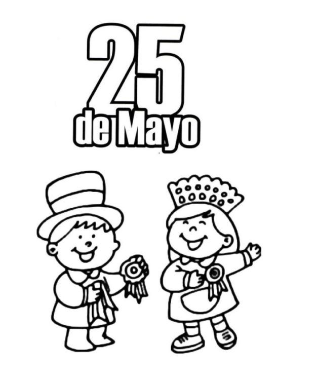 Imagenes Del 25 De Mayo Para Colorear 25 De Mayo Argentina Colorear Actividades Escolares Colonial Vestimentas