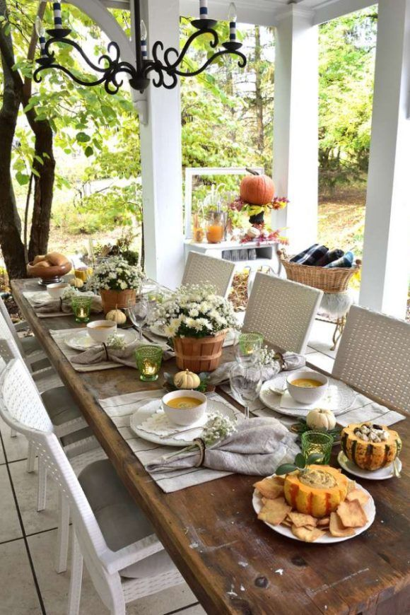 Take Your Thanksgiving Outdoors In 2020 Rustic Thanksgiving Table Rustic Thanksgiving Thanksgiving Celebration