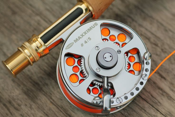 My precious - fladen maxximus lever drag - fly fishing reel.