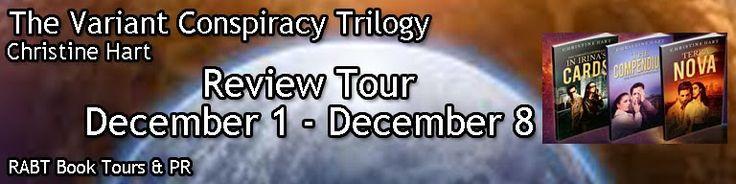 Texas Book Nook: Book Tour & Book Review: The Variant Conspiracy Tr...