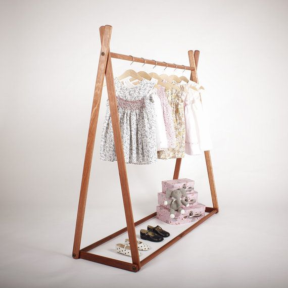 Natural - Clothes Rack from sghstore on Etsy. Saved to For the babies #room