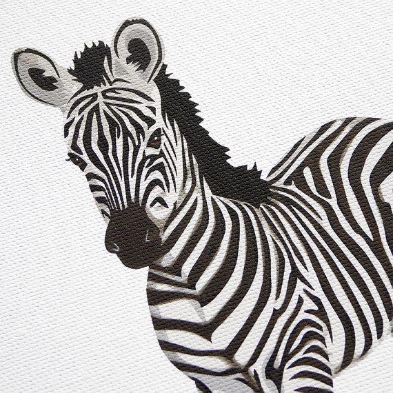 Bébé Animal crèche estampes chambre minimaliste par PaperLlamas