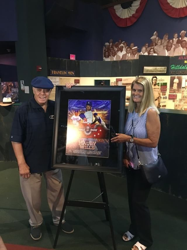 Maury Wills inducted into the Negro Leagues Baseball Museum 'Hall of Game'