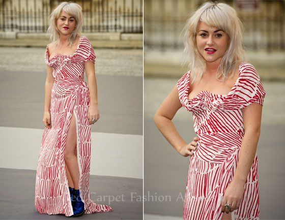 Jamie Winstone In Vivienne Westwood – Eliza Doolittle In House Of Holland – The Royal Academy of Arts' Summer Exhibition Preview Party