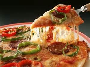 pepper & susage pizza