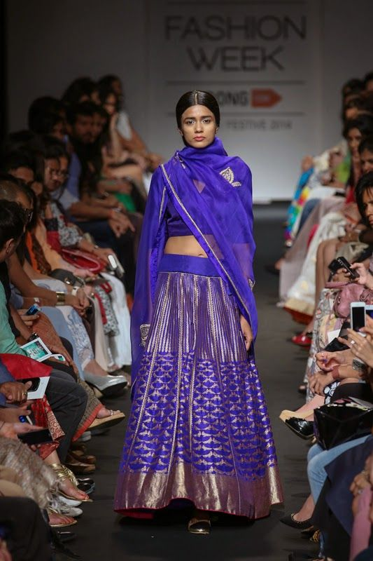 Sanjay Garg festive collection. The entire collection is developed using the…