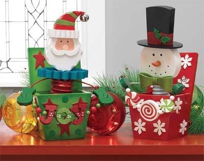 """Image Gallery > RAZ 16"""" Santa Jack in the Box - Trendy Tree"""