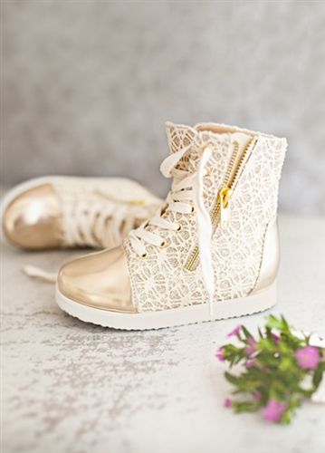 Joyfolie - Mila Sneakers in Gold