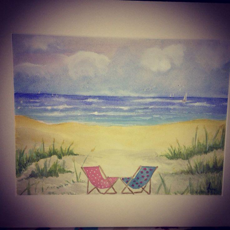 Cornwall memories- commissioned original watercolour