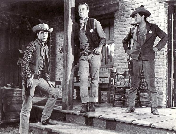 "Best western ever, ""Rio Bravo"" with Ricky Nelson, John Wayne, and Dean Martin"