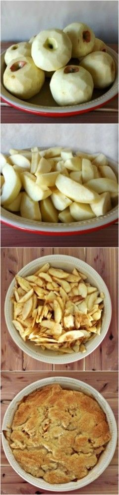 Gluten Free Apple Pie Recipe ...OMG...this is Delicious, you'd NEVER know it was gluten-free.