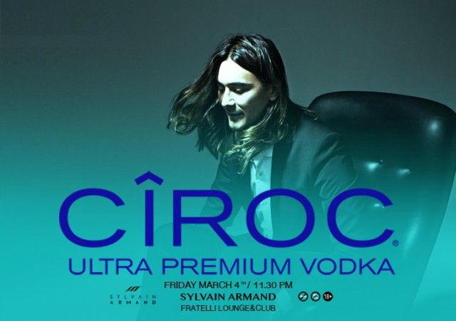 CIROC presents Sylvain Armand @Fratelli Lounge&Club