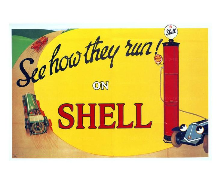 See How They Run on Shell 1925