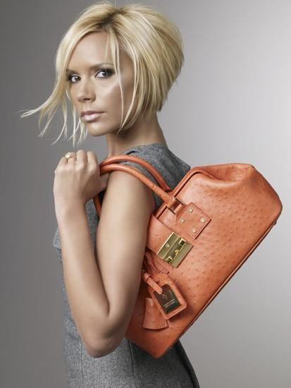 Victoria Beckham handbag campaign
