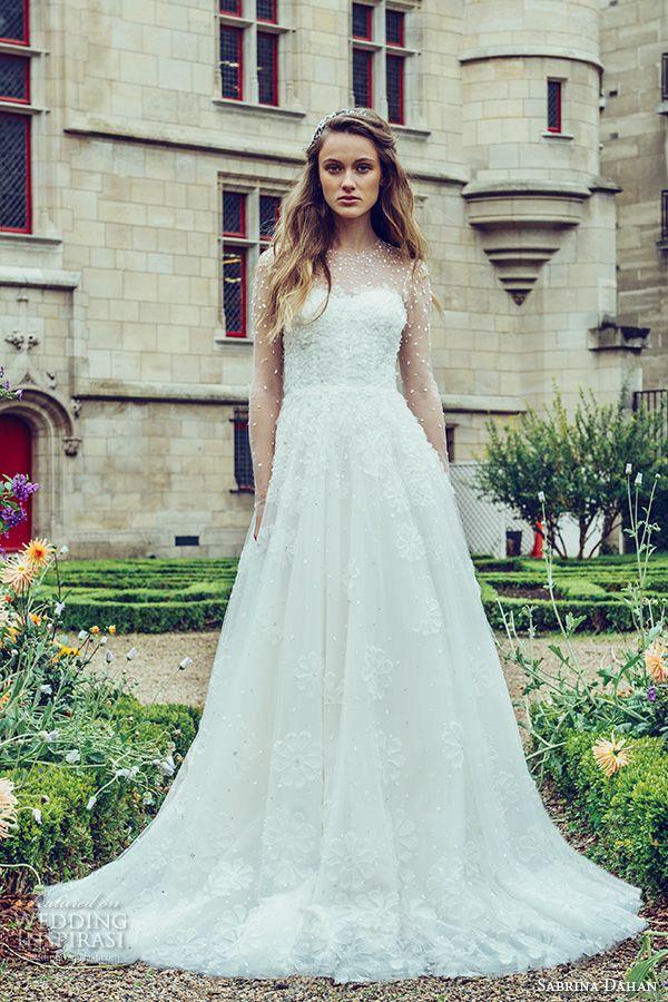 103 best W.longsleeved images on Pinterest | Short wedding gowns ...