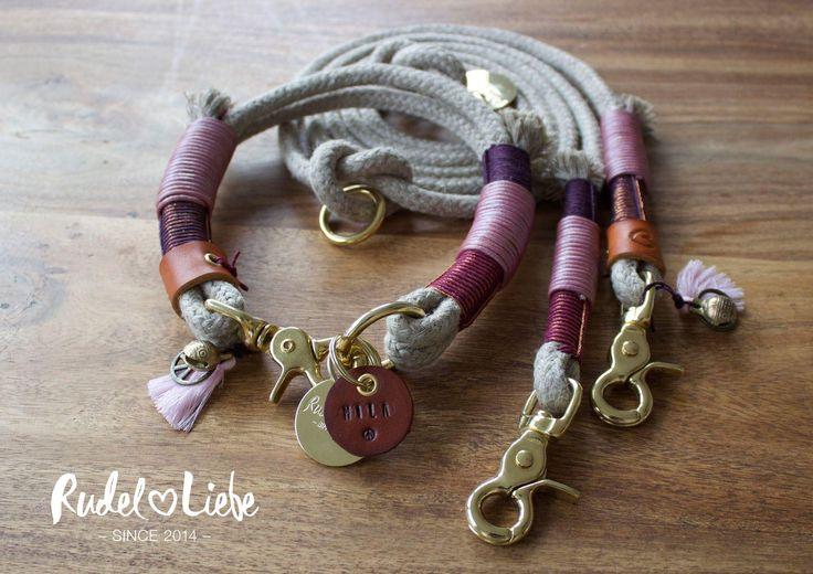 BERRY Halsband LITTLE TOKYO // Leine LOVE BIRD www.rudelliebe.de #hippie #summeroflove #boho #dogcollar #leather #halsband