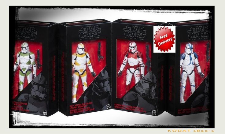 Star Wars Action Figures Clone Troopers of Order 66 6-Inch Kids Christmas Toys  #StarWarsActionFigures