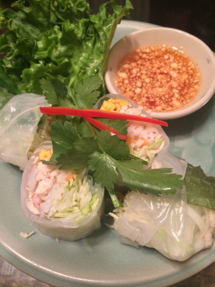 生春巻 クルンサイアムアティック in Thai restaurant , JIYUGAOKA.