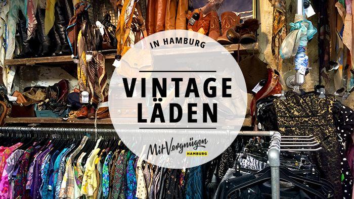 Vintage-Läden gibt es einige in Hamburg und das mit teilweise ganz unterschiedlichen Konzepten: