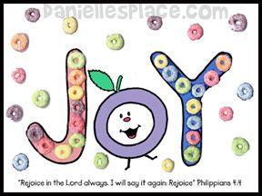 Fruit of the Spirit Activity Sheet
