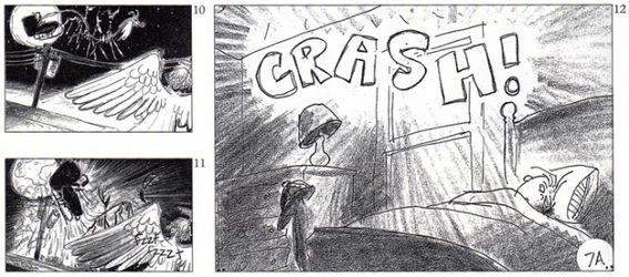 Раскадровки анимационного фильма «Кошмар перед Рождеством»