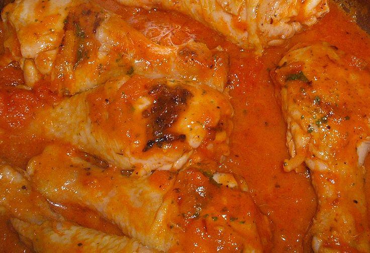 pollo en chile chipotle