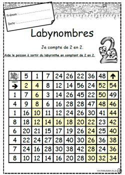 Labynombres, Comptages jusque 10.
