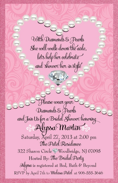 22 best Bridal Shower Invitations images on Pinterest Bridal