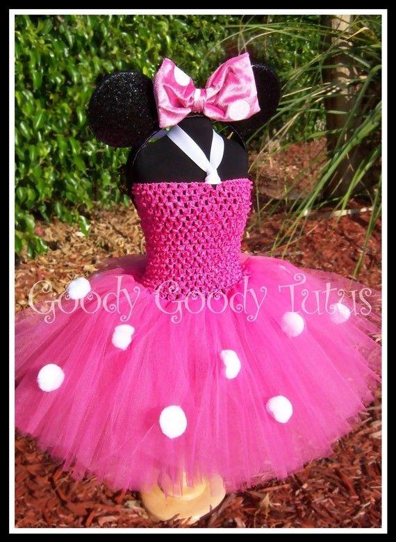 Minnie inspired tutu have to keep it in mind for fernandas next birthday