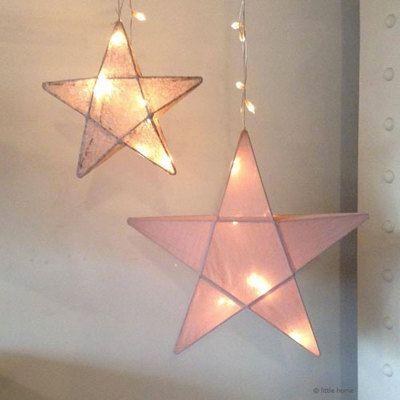 Commandez dès maintenant notre Lanterne Lanterne étoile - rose fané NUMERO74. Lanterne étoile lumineuse, lampe étoile, veilleuse étoile rose Numéro74. Livraison soignée l www.little-home.fr