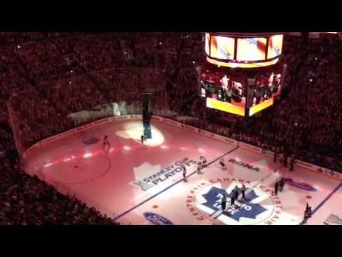 Canadian Anthem Ending
