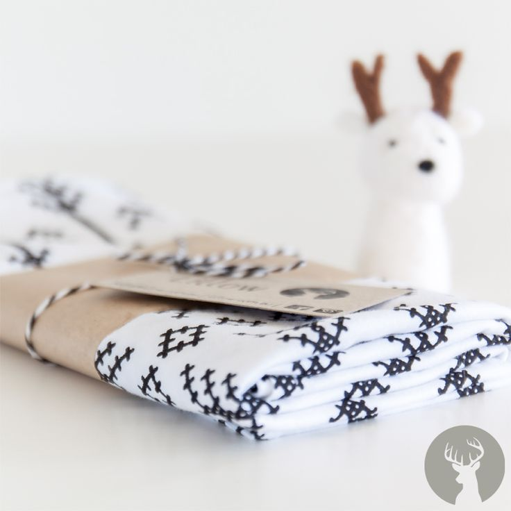 Beautiful stitched arrows lightweight swaddle ready to snuggle to your bub