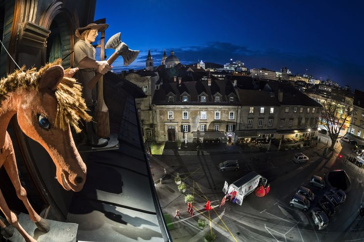 Ljubljana Puppet Theatre: The remarkable photograph capturing one of the greatest attractions of our theatre – Martin Krpan and his mare is now available as a postcard in our bookshop. Photo: Branko Čeak / Domen Pal / Jože Maček