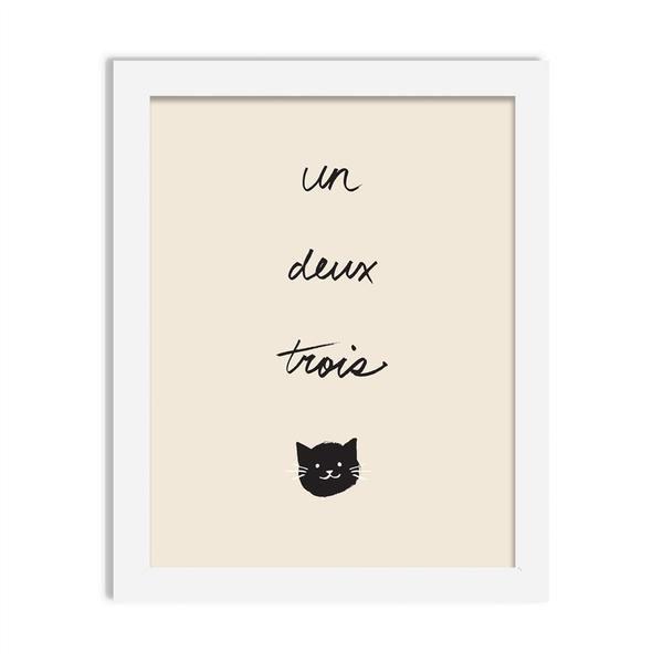 cat - 8 x 10 print - JustGreet