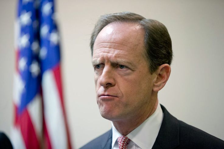 "SO FUNNY. PA Senator Pat Toomey Thinks ""Menstruation"" Is A Graphic Word (see link for article)"