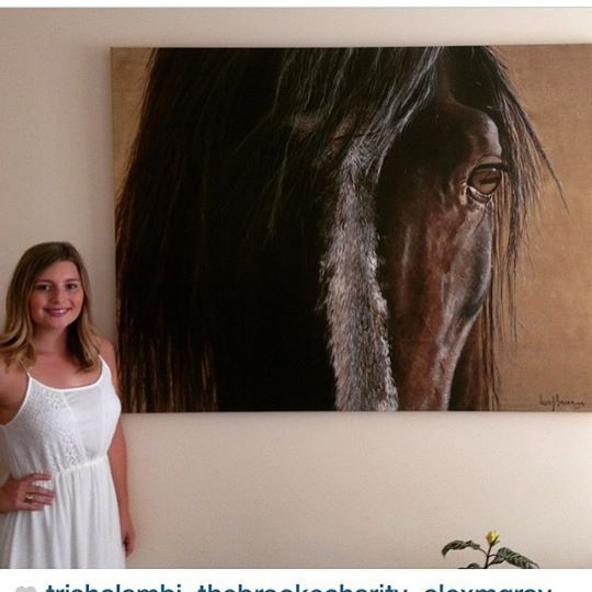 HORSE in a happy home.