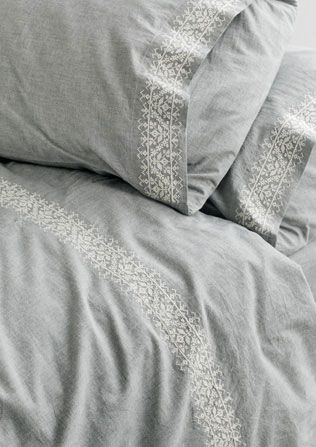 1000 Ideas About Embroidered Bedding On Pinterest