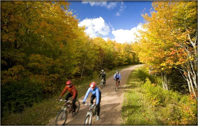 Confederation Trail cycling and hiking info- Prince Edward Island