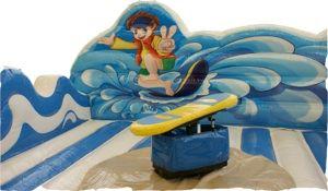Surf Simulator als tolles Party Spiel für die Hawaii Party!