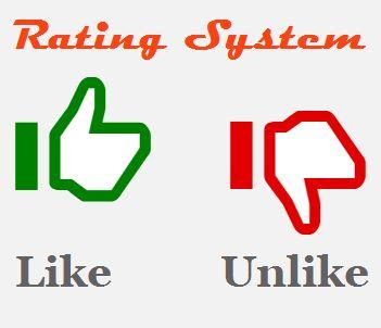 Znalezione obrazy dla zapytania rating by like